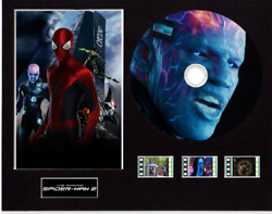 The Amazing Spiderman 2 Film Cells 10x8 Mounted With Cd And 3 Cells 13 Cd Images
