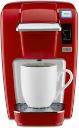 Keurig K15 Coffee Maker, Single Serve K-cup Pod Brewer, 6 To Chili Red