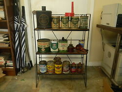 Quaker State, Pennzoil Texaco Display Rack Gas Station Man Cave Plus Other Stuff