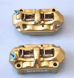 Ducati Brembo Radial Calipers 4 Pad Power Upgrade /100mm Bolt Hole Centres