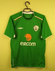 Republic Of Ireland jersey shirt 20042006 Home umbro soccer football size S