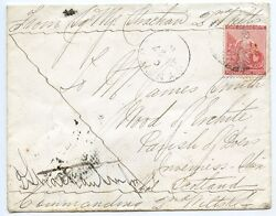 Cape Of Good Hope 1881 Soldiers Letter 1st Boer War With 1d To Scotland.