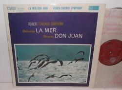 Sb-2128 Debussy La Mer And Strauss Don Juan Chicago Symphony Orch Reiner Grvd R/s