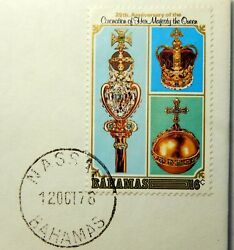 1978 Bahamas 16 C Stamp Cancelled 12 Oct 78 Mint Condition Sb6227