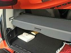 For 2008-2014 Smart Fortwo Retractable Cargo Cover Rear Trunk Privacy Shade BLK