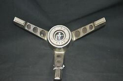 1965-66 Ford Mustang 3 Spoke Steering Wheel With Horn Ring