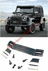 W463 Carbon Front Roof Spoiler Led Brabus 4x4 6x6 Style Mercedes-benz G-class