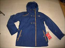 The North Face Bastille Tri-Climate Jacket  for Women Blue Sz M - NWT $299