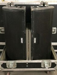 8 - EAW SM84 Monitor Speakers with Flight Case Great Condition