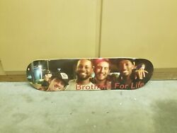 Supreme/element/powell - Brothers For Life Skateboard Deck 8.5 Old Rare Deck