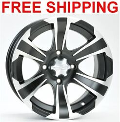 Itp Ss312 Wheels Rims 12 4 Wheel Kit Grizzly 400 450 550 660 700