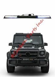 W463 Roof Spoiler With Hella Oem Led Brabus Style Mercedes-benz G-class