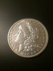 1884-s Morgan Silver Dollar Better Date Price Guide Valued At 1,750+ Key Coin