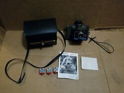 Polaroid Vintage Camera Colorpack 2 Ii Instant Land Camera W/ Case Flash Cubes++