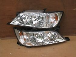JDM MITSUBISHI LANCER CEDIA CS5W HATCHBACK HEAD LIGHTS OEM