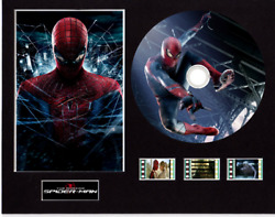 The Amazing Spiderman Film Cells 10x8 Mounted With Cd And 3 Cells 6 Cd Images
