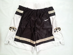 Vintage Rare Made In Usa Missouri Tigers Authentic Basketball Shorts In Size L