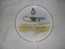 Military Antique The Sunderland Flying-boat Commemorative Plate.
