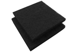 Paint Spray Booth Activated Carbon Adsorption Filters 20x20x1/2 10pcs/case