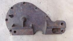 1928 Model A Ford Front Engine Timing Cover Plate Original W/ Pin