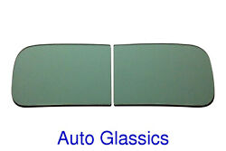 1941 1942 1946 1947 1948 Studebaker M Pickup Truck 2pc Windshield Clear Or Green