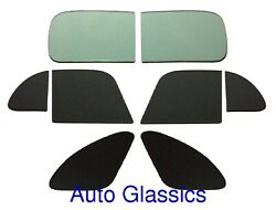 1941 Chrysler Club Coupe Flat Auto Glass Kit New Restoration Replacement Windows