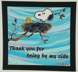 Peanuts Snoopy Magnet ☆ Thanks You...