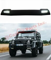 W463 Front Roof Spoiler Led Brabus Amg 4x4 6x6 Style Mercedes-benz G-class