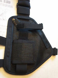 Hands Free Breathable Mesh Radio Chest Harness For Pro And Uhf Radios 101 Mesh