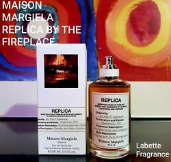 MAISON MARGIELA REPLICA BY THE FIREPLACE 1 2 3 5 7 amp; 10ML SPRAY AUTHENTIC