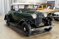 1932 Ford Deluxe Roadster 1932 Ford Deluxe Green with 1777 Miles available now!