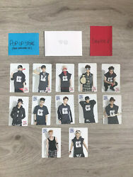 Official Lot Exo Pop Up Store Photocards From Stationery Set Photo Card