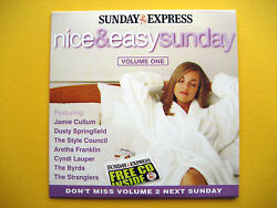 NICE & EASY SUNDAY VOLUME 1 CD A THE SUNDAY EXPRESS NEWSPAPER PROMOTION (1 CD)