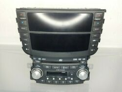 07 08 Acura TL Information Display Screen Climate Radio CD Changer Tape Player