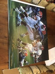 Alabama Football Rebirth In The Swamp Signed Art Canvas Unframed By Daniel Moore