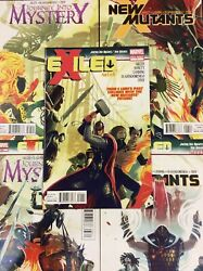 Exiled 1-5 Comic Books Thor Journey Into Mystery New Mutants Marvel Heroes Lot