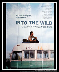 INTO THE WILD 4x6 ft French Grande Movie Poster Original 2007
