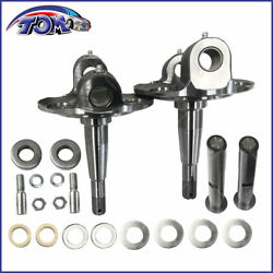 Straight Axle Round Spindle With King Pin Kit For 1928-1948 Ford