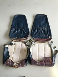 Beech Bonanza Be35 Red White Blue Seat Covers And Side Panel Covers.