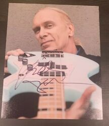 Billy Sheehan Signed 8x10 Autograph Winery Dogs Mr Big Namm
