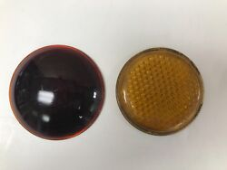 Vintage Original 1950and039s Yellow And Red Lenses