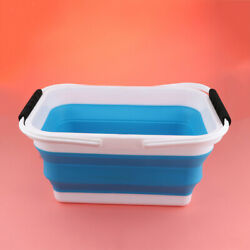 Portable Retractable Folding Car Wash Bucket Fishing Household Water Pail $20.33