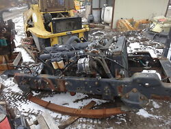 Ford 6.6 L Turbo Diesel Engine Frame Cut Good Runner At545 Trans 3 Avail