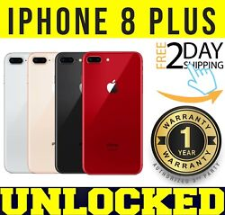 Apple Iphone 8 Plus 64gb | 256gb Gsm Unlocked Gray ║ Silver ║ Red ❖sealed❖w