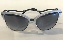Shamballa Bliss Brush Silver Sunglasses Original Authentic Free Shipping