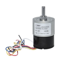 Tsiny 37mm 12v/24v Dc Geared Brushless Motor With Square Wave Output Reversible