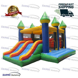 16x11.5ft Commercial Inflatable Jumping Combo Bounce House With Air Blower