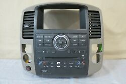 ✅ 08-12 Armada Pathfinder CD Radio Player Climate Control Panel Bezel Vents OEM