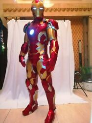 Iron Man MK43 Suit Iron Man Cosplay Costume  Wearable Made to Measure and Movie