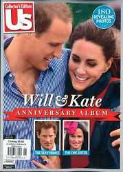 Us Weekly Will And Kate Anniversary Album,kate Middleton,william,royal Family New